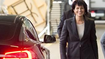 Die Schweiz stehe unter enormem Zeitdruck. «Doch wir wollen es versuchen.», sagt Energieministerin Doris Leuthard zu den Strommarkt-Verhandlungen mit der EU. (Archiv)
