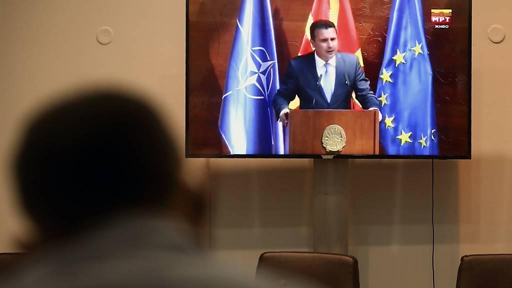 Zoran Zaev wird erneut Ministerpräsident Nordmazedoniens
