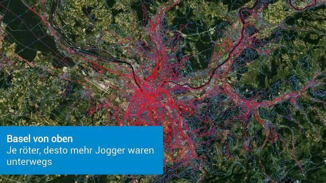 Die beliebtesten Jogging-Routen von Basel