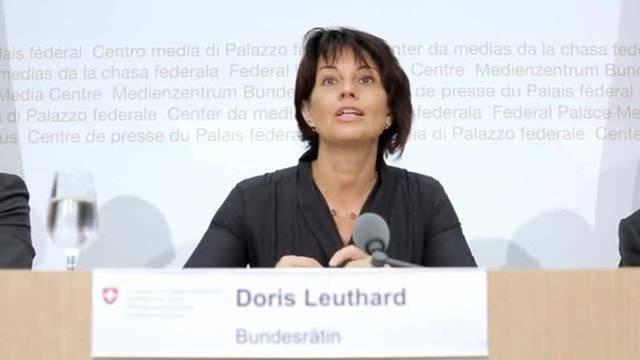Bundesrätin Leuthard sagt Nein zur Initiative «Grüne Wirtschaft»