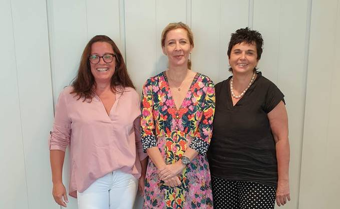v.l.n.r.; Astrid Zeiner, Bettina Lutz, Manuela Eiermann