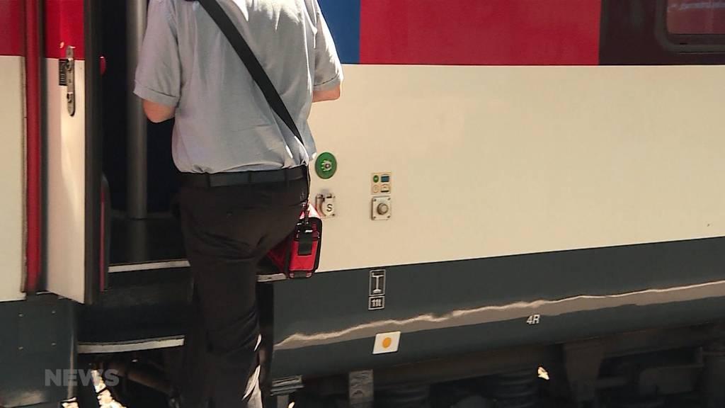 Tödlicher Unfall: SBB-Angestellter wird von Zug mitgeschleift