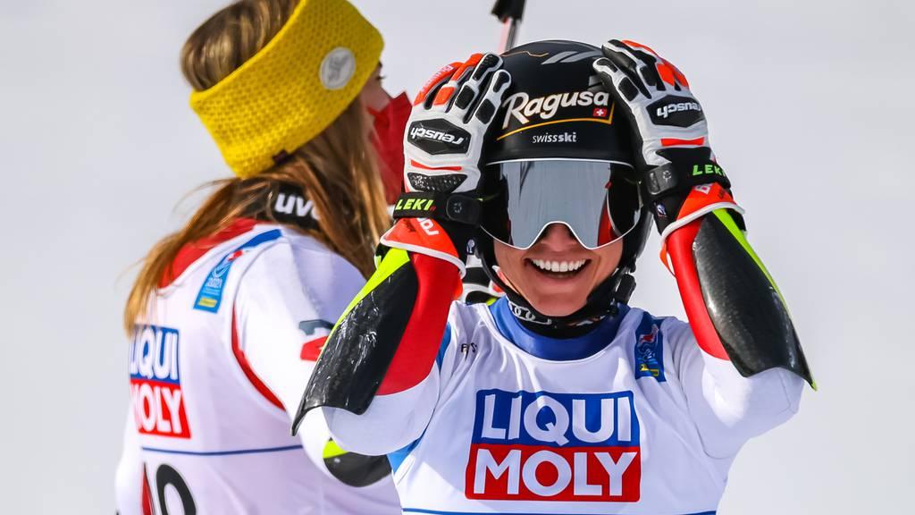 Zweites WM-Gold in Cortina für Lara Gut-Behrami