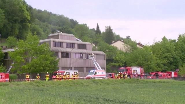 Grossbrand in Gebensdorf