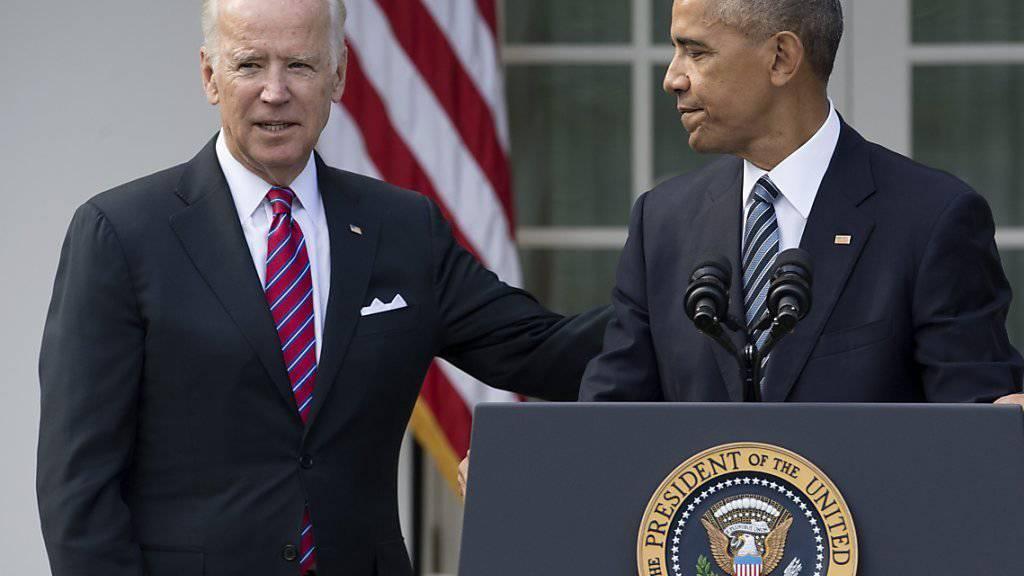 US-Vizepräsident Joe Biden wird in der Fantasie von Twitter-Nutzer zum Rächer im Weissen Haus. (Archivbild)