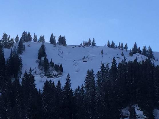 Im Skigebiet Flumserberg, im Bereich Crappawald, waren am Mittwochmittag drei Skifahrer abseits der Piste unterwegs, als sich eine Lawine löste.