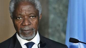 Der Uno-Sondergesandte Kofi Annan (Archiv)