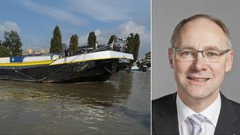 Für den Aargau lohnt sich der Güterverkehr auf dem Rhein nicht, sagt die Studie der FHNW, welche SVP-Nationalrat Hansjörg Knecht in Auftrag gegeben hatte.