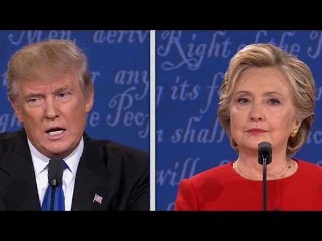 Das Thema «Sicherheit» während der ersten TV-Debatte zwischen Hillary Clinton und Donald Trump.