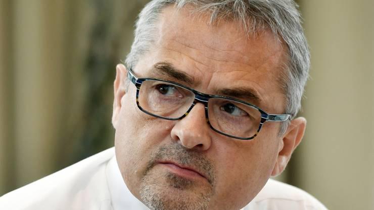 OC Oerlikon-Chef Roland Fischer blickt auf einen erfolgreichen Start ins neue Geschäftsjahr zurück. (Archiv)