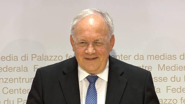 «Es geht mir gut, ich bin wach»: Ausschnitte aus der Medienkonferenz zum Rücktritt von Johann Schneider-Ammann.