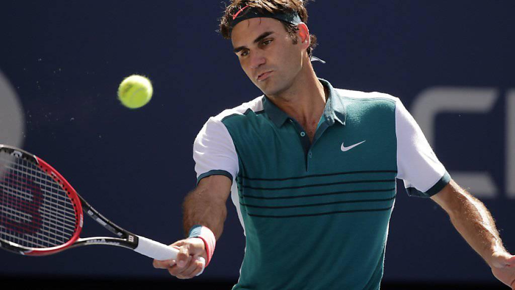 Federer gegen Kohlschreiber ohne Probleme