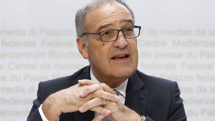 Bundesrat Guy Parmelin.Bild: Key