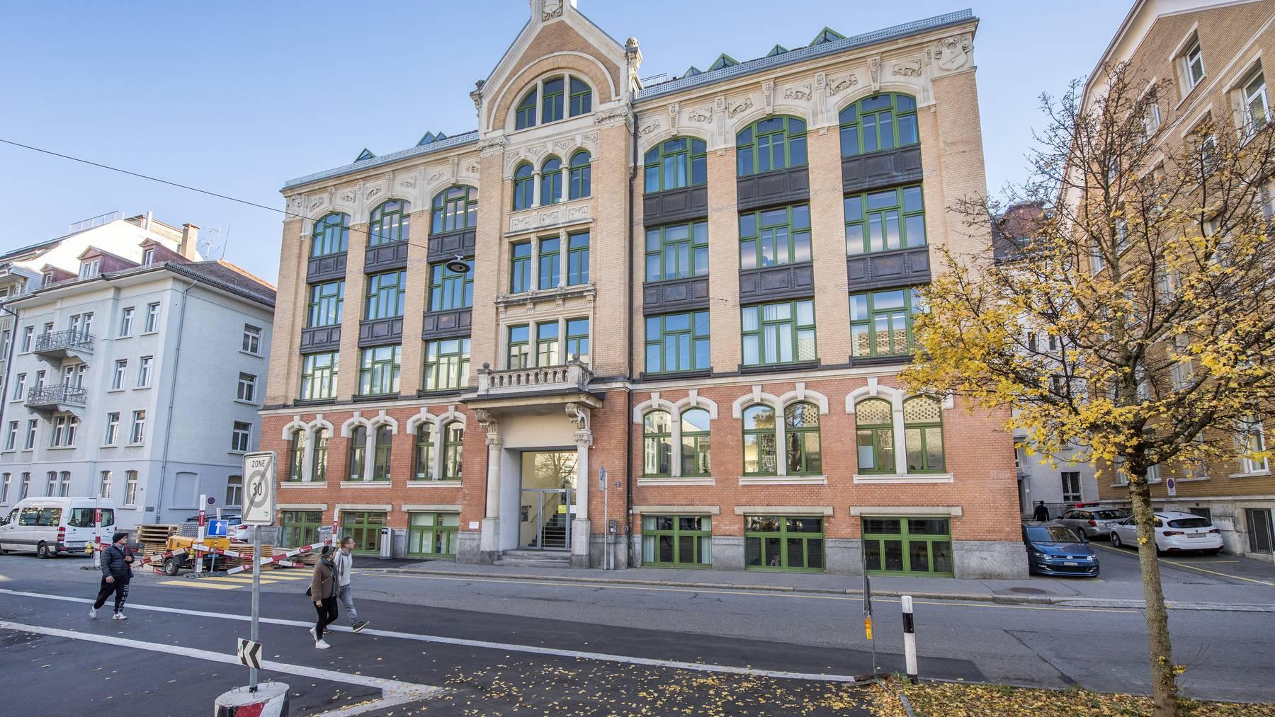 Dieses Haus an der Davidstrasse 25 wurde für 8,6 Millionen Franken versteigert.