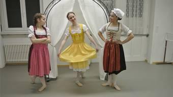 Sabrina Iseli, Stefanie Kägi und Fiorella Gassei.