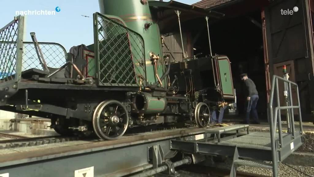 Revision der historischen Lok7 der Rigibahnen