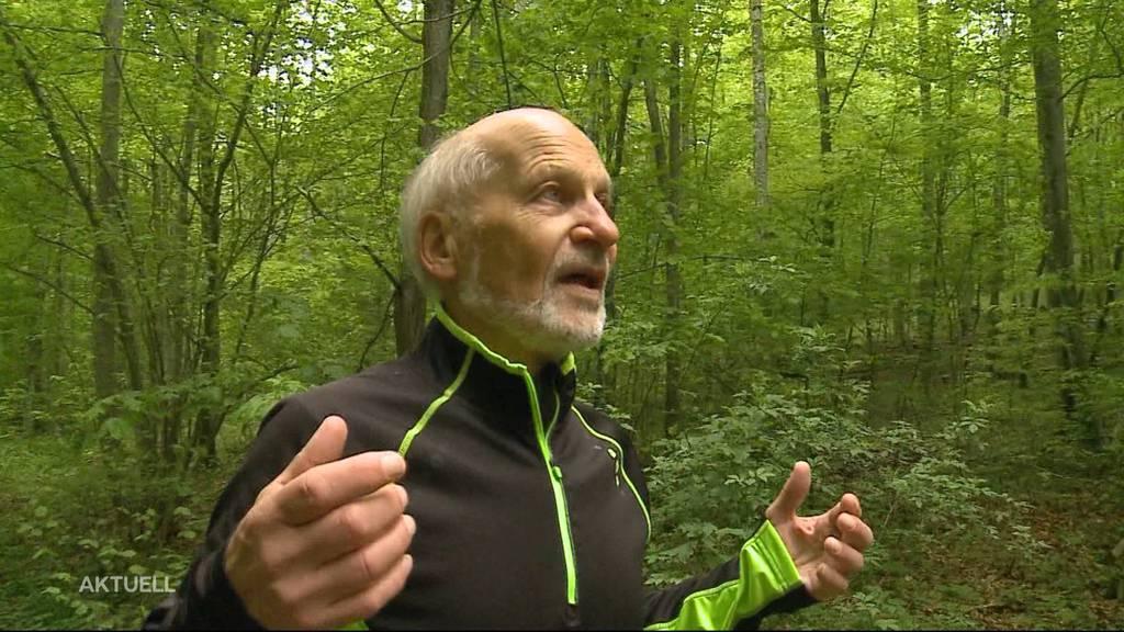 Fritz Benkert aus Bellikon erzählt von der Mäusebussard-Attacke
