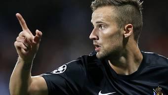 Haris Seferovic erzielte das 2:0 für San Sebastian.