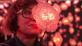 """Die Schweizer Künstlerin Pipilotti Rist ist in die Top Ten des """"Kunstkumpass"""", des Ruhmesbarometers der Kunstwelt, aufgestiegen."""