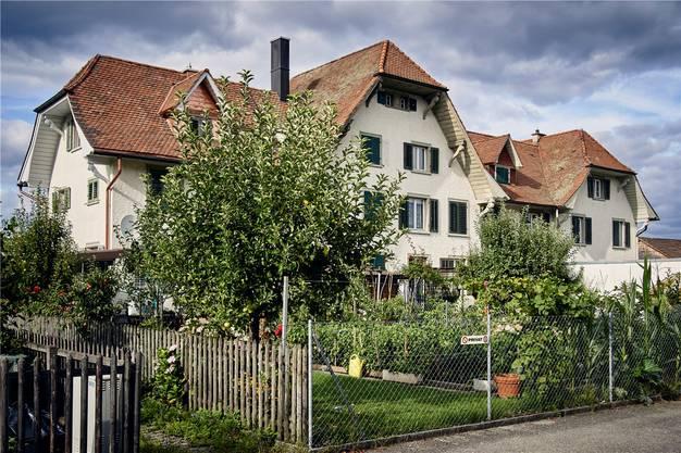 In diesem Haus an der Leinenstrasse wohnten früher Arbeiter der Hetex.