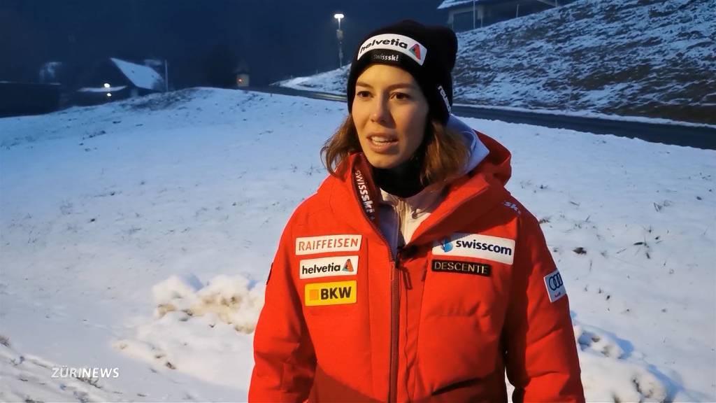 Michelle Gisin beendet Slalom-Durststrecke: Bekommt sie ihren Blumenstrauss?