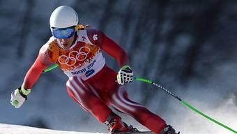 Carlo Janka startet mit der Nummer 3 in die Olympia-Abfahrt