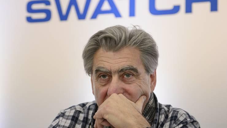 Die Manager der Schweizer Uhrenindustrie sind pessimistischer. Bei Swatch zieht nach einem Umsatzrückgang und einem Gewinneinbruch im ersten Halbjahr gemäss Konzernchef Nick Hayek die Nachfrage wieder an. (Archiv)
