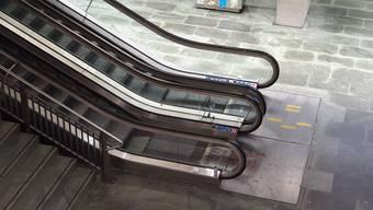 Dieser Teil des Luzerner Bahnhofs war abgesperrt.