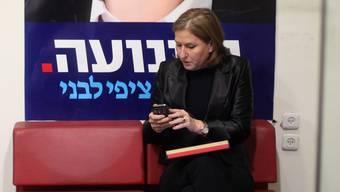 Zipi Livni sieht Israel am Scheideweg. ABIR SULTAN/keystone