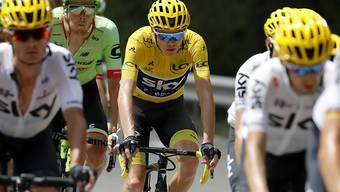Chris Froome behält auch nach der 18. Etappe das gelbe Leadertrikot