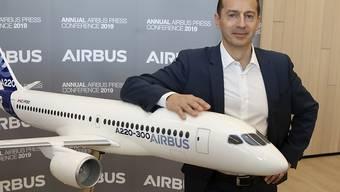 Der neue Airbus-Chef Guillaume Faury krempelt die operative Führung des europäischen Flugzeugbauers um. (Archiv)
