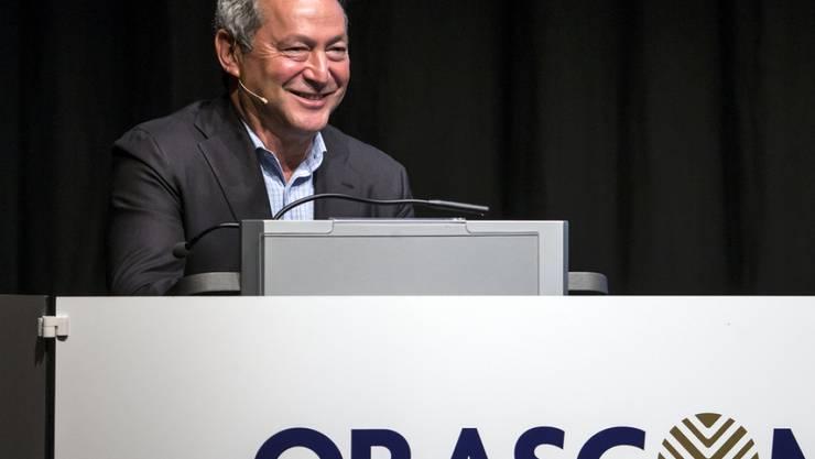 Samih O. Sawiris, Verwaltungsratspräsident der Orascom Development Holding verhandelt derzeit mit Banken um eine Schuldenrefinanzierung. (Archiv)