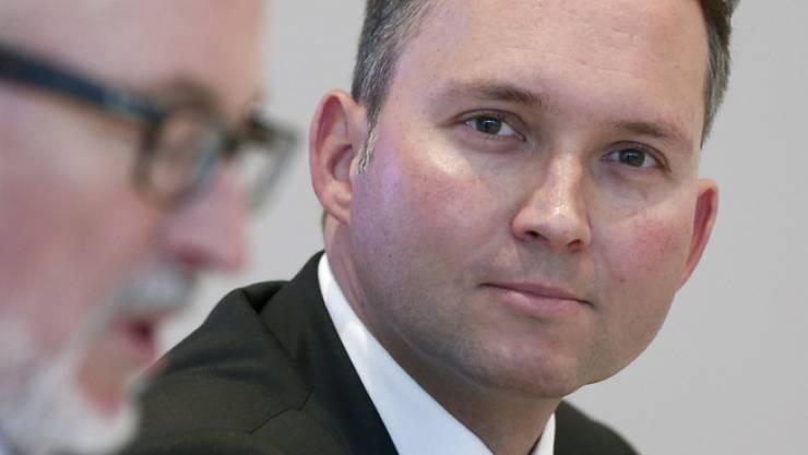Simon Michel, CEO von Ypsomed: «Dank hoher Automation können wir in Solothurn bei höherer Qualität zu vergleichbaren Kosten fertigen.» (Archiv)