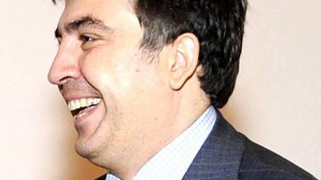 Staatschef Saakaschwili (Archiv)