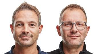 David Alder und Basil Thüring leiten als Co-Direktoren das Naturhistorische Museum Basel.