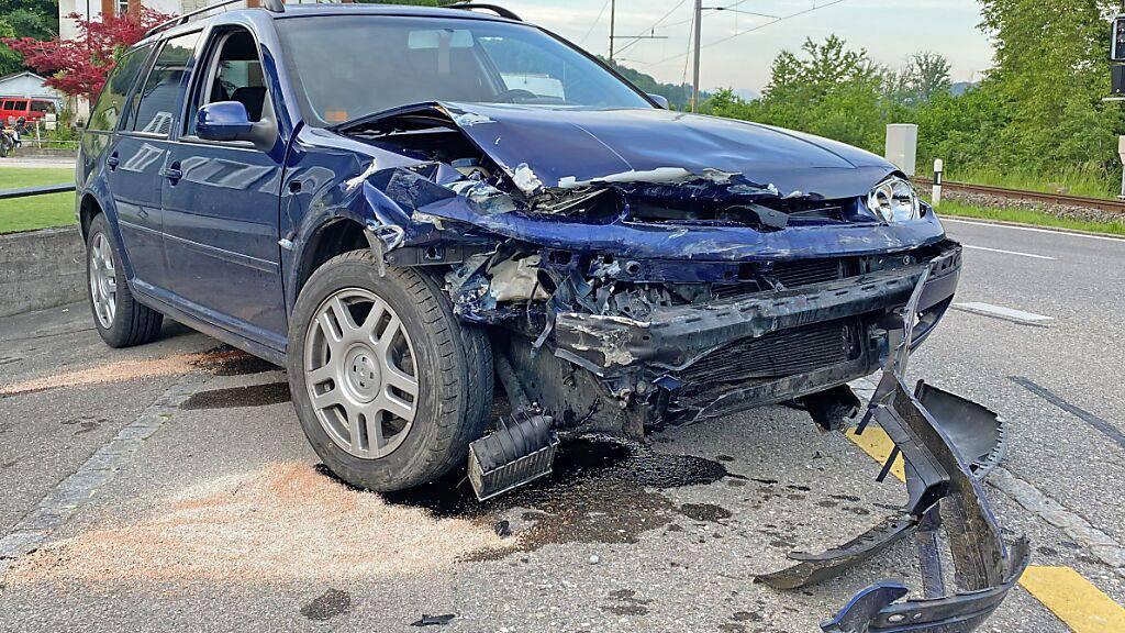 Ein Alkoholisierter Lenker hat in Kradolf einen Selbstunfall verursacht.
