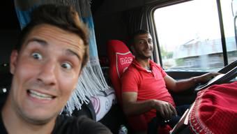 Von Kovancilar nach Bingöl: Mehmet wird mir nicht nur in Erinnerung bleiben,weil er mein 200. Fahrer war,sondern auch,weil er mich zu sich nach Hause einlud.