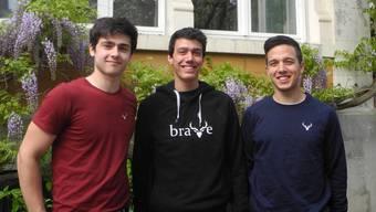 Drei junge Solothurner steigen mit ihrer Marke «Brave» in Mode-Business ein
