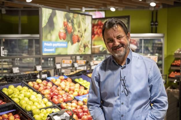 «Wir sind gut vorbereitet und freuen uns auf die Eröffnung», sagt Marktleiter Mathias Wolf.