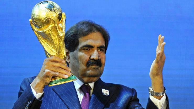 Scheich Hamad bin Khalifa bin Ahmed al-Thani möchte die Austragung des Africa Cups im eigenen Land.