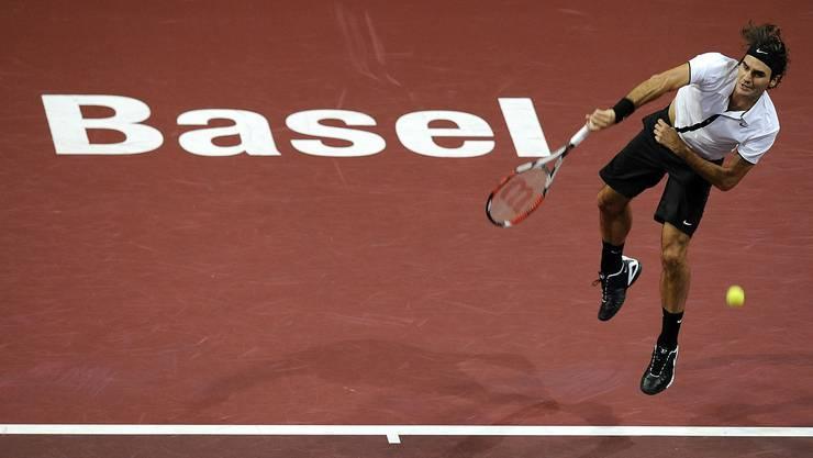 Ansporn: TC Oldboys verzeichnet Tennisboom – auch weil Roger Federer mit von der Partie ist. (bz archiv)