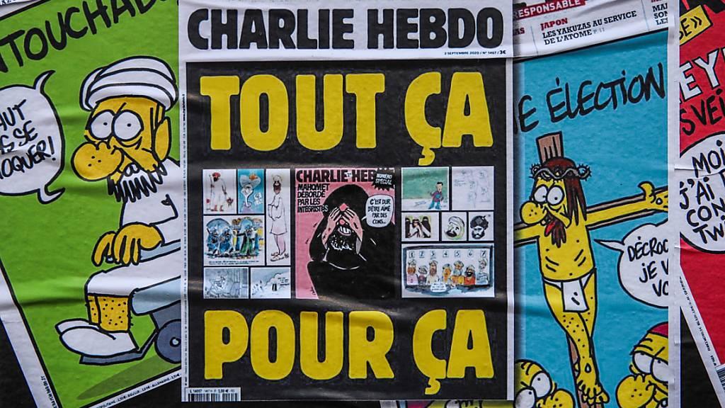 Nur zwei Berufungen nach Urteilen im «Charlie-Hebdo»-Prozess