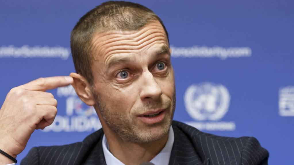 Auch unter Präsident Aleksander Ceferin geht es der UEFA nicht um den Fussball, sondern um eine Gewinnmaximierung