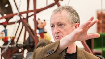 Michael Landy im Tinguely Museum