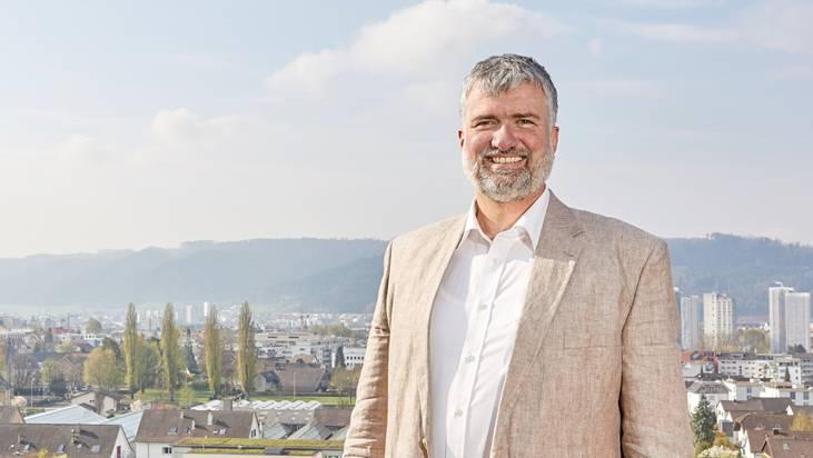 EVP-Einwohnerrat Lutz Fischer-Lamprecht wäre gern so schnell wie Lucky Luke. ZVG