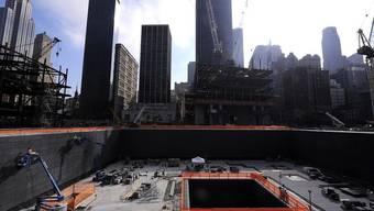 Mahnmahl des Terrors: Ground Zero in New York (Symbolbild)
