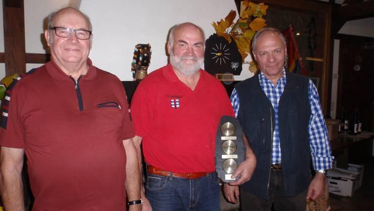 von links nach rechts Koller Hebert, Brumann Toni, Mischler Carlo