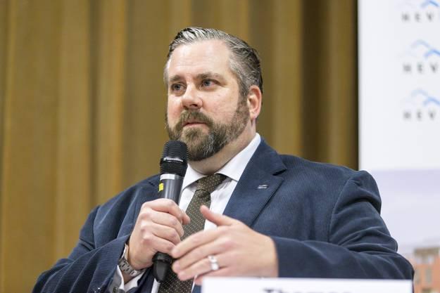 Mit Thomas Vogel will die FDP ihren zweiten Sitz im Regierungsrat verteidigen.
