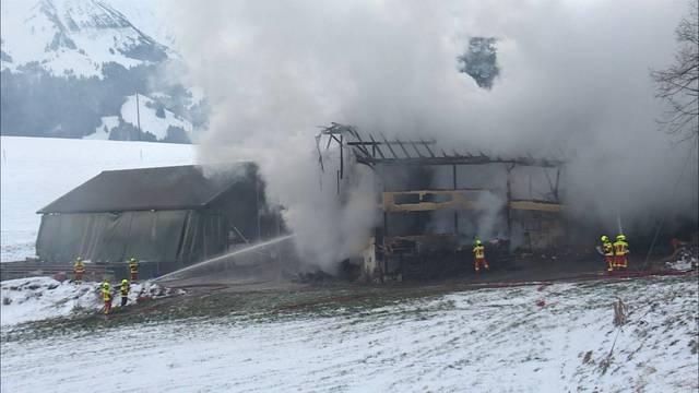 Bauernhaus in Tieracheren abgebrannt