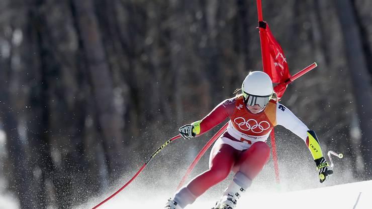 Corinne Suter nimmt viel Positives mit aus der Olympia-Abfahrt